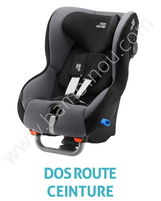 Max Way plus Strom Grey Britax Romer BamBinou