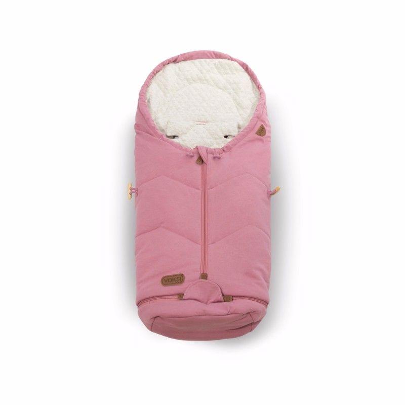 Chanceliere poussette et siege auto Move Light Pink Voksi Bambinou