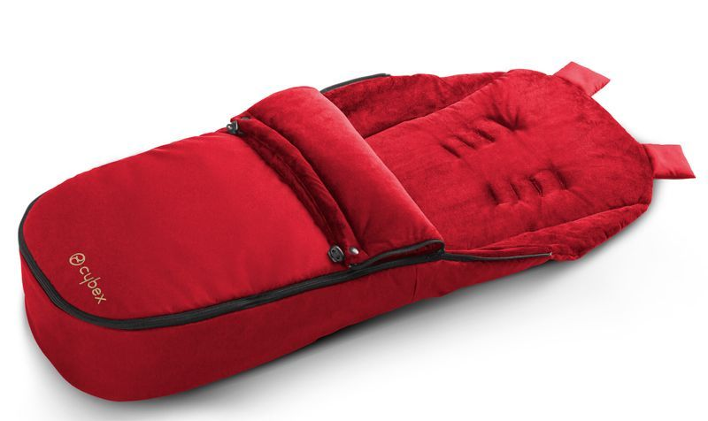 515404038 chanceliere rouge hot spicy poussettes Cybex BamBinou