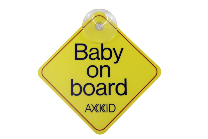 Signalétique Baby on board Axkid