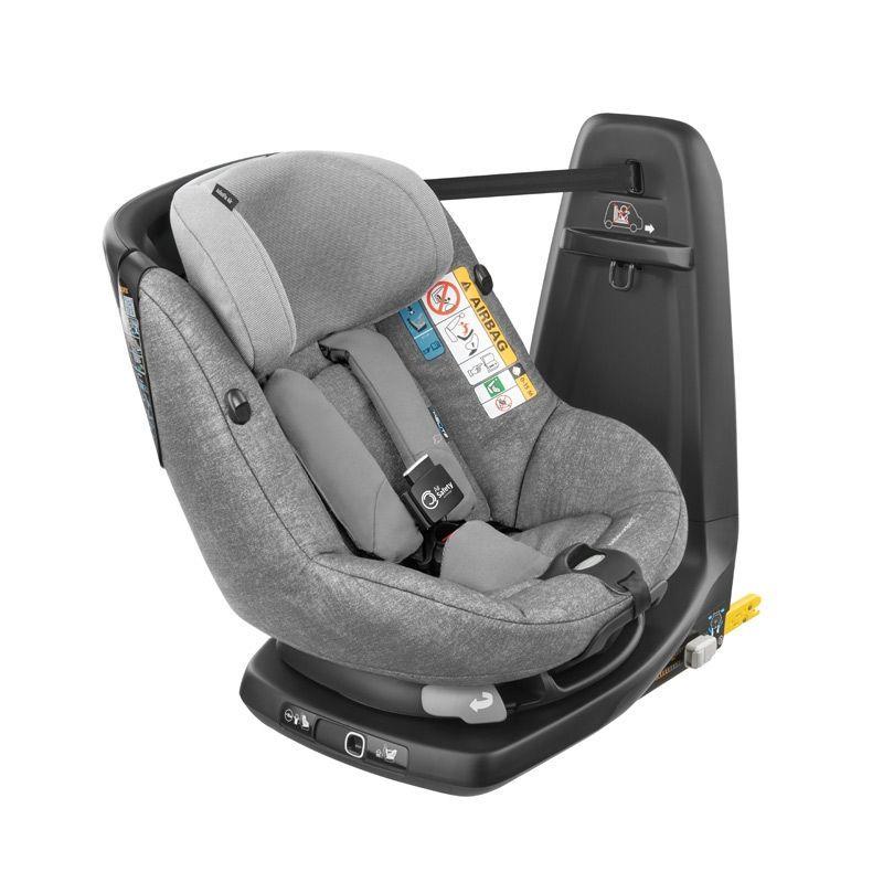 Siège auto AxissFix Air i-Size pivotant groupe 1 Nomad Grey Bébé Confort Bambinou