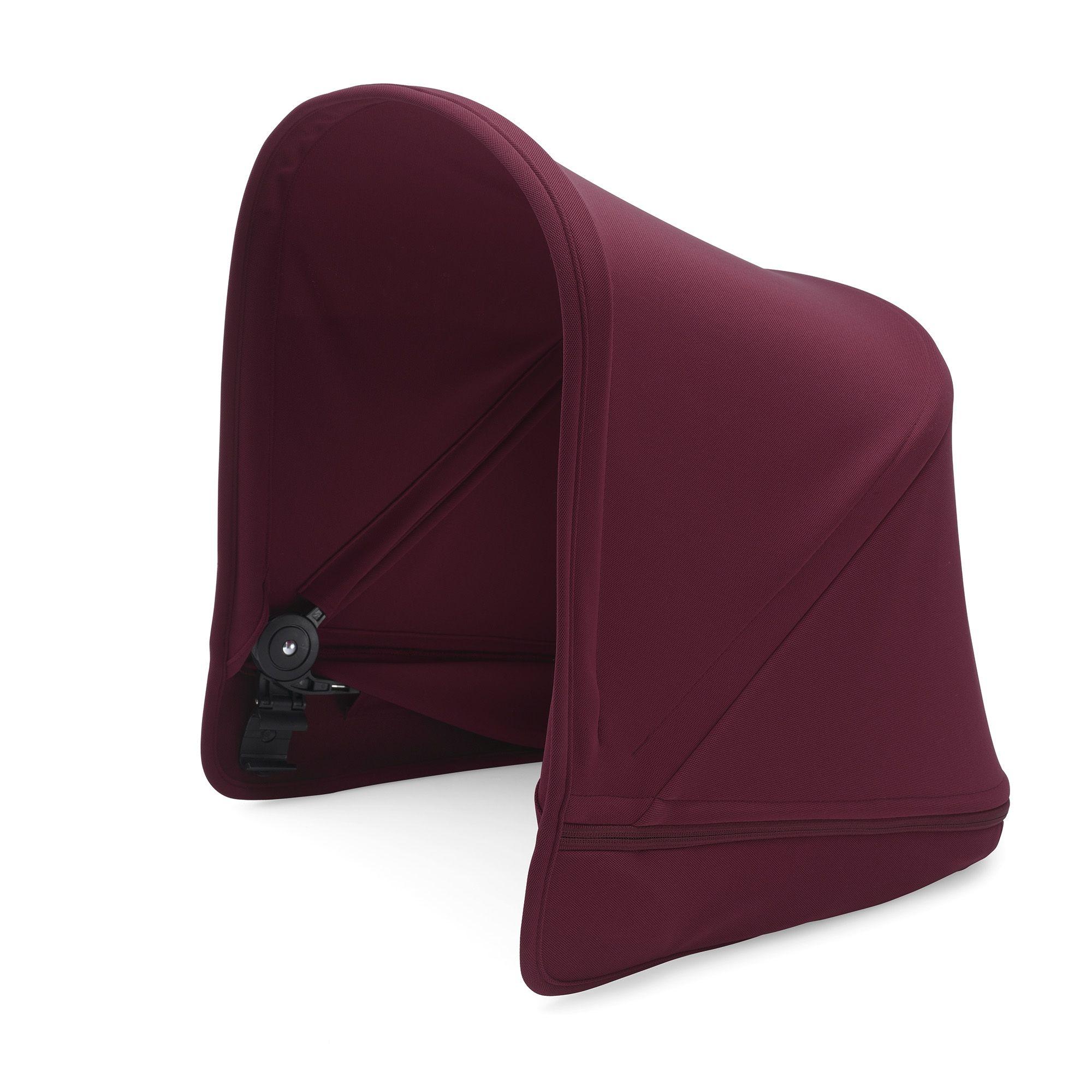 Capote extensible Poussette Donkey2 (Boîte 3) rouge rubis