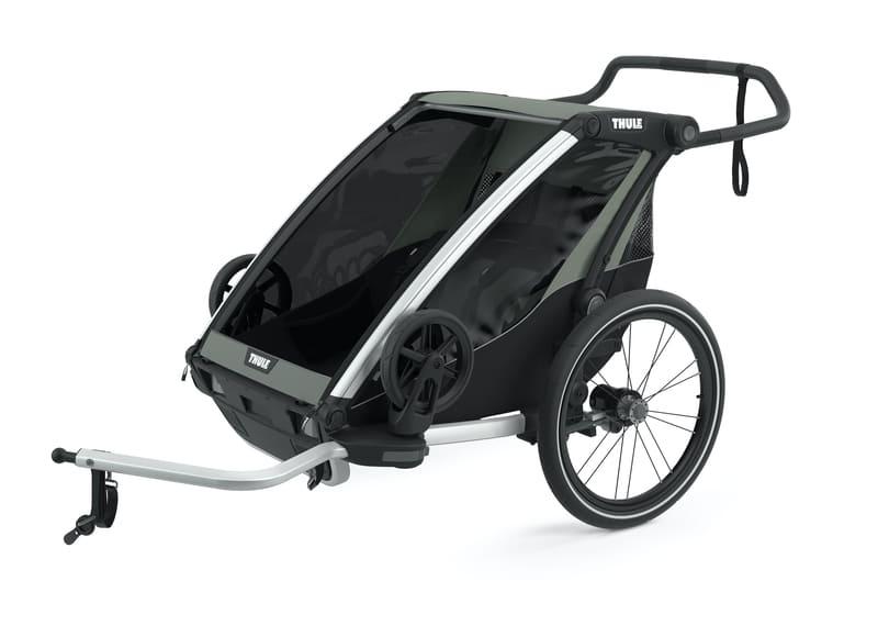 Chariot à vélo Lite 2 Agave Thule Remorque