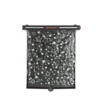 Pare-soleil enroulable Starry Night Sun Shade phosphorescent Diono BamBinou