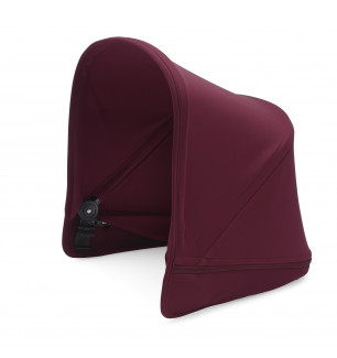 Capote extensible Poussette Donkey2 (Boîte 3) rouge rubis