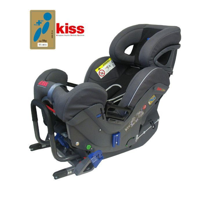 Si ge auto kiss 2 plus groupe 0 1 klippan for Siege auto 1 an