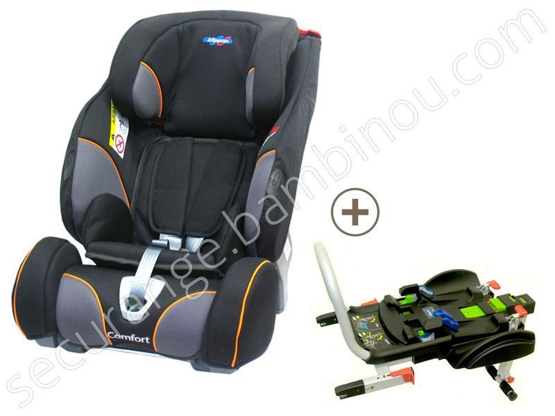 si ge auto triofix recline comfort avec base isofix groupe 1 2 3 klippan. Black Bedroom Furniture Sets. Home Design Ideas