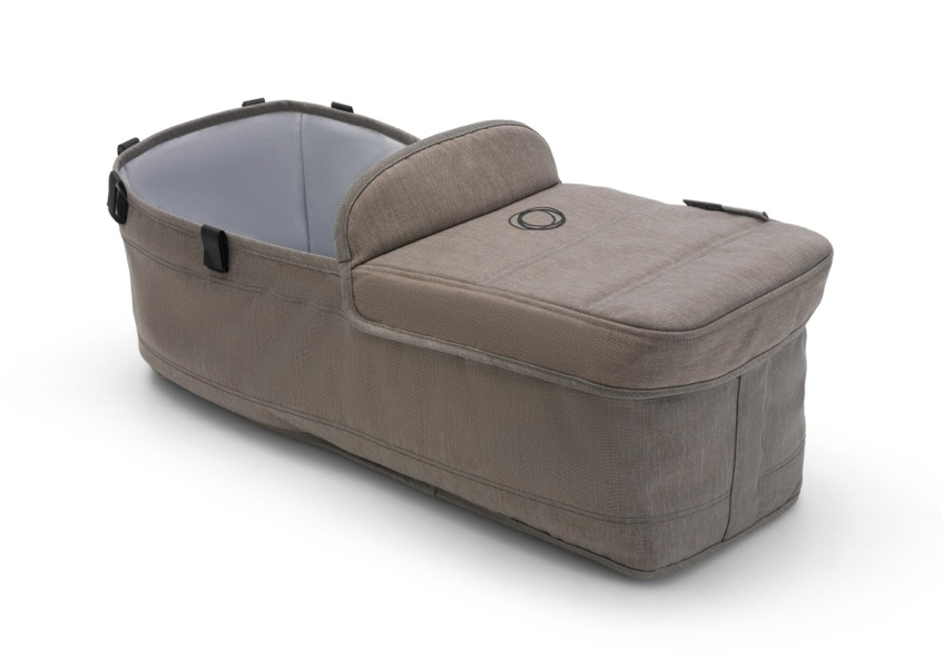 Habillage nacelle jumeau poussette Donkey2 collection Mineral Taupe Bugaboo