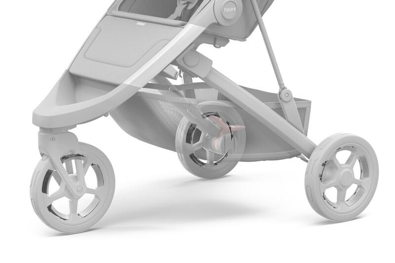 Kit de réflecteurs pour roues poussette Spring Thule Installation