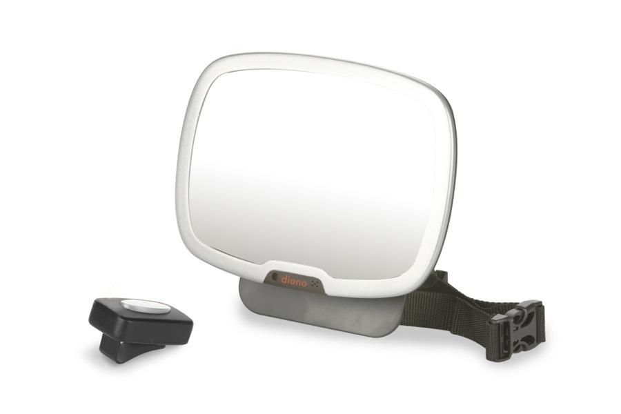 Miroir de surveillance de voiture jour et nuit Easy View Plus silver Diono