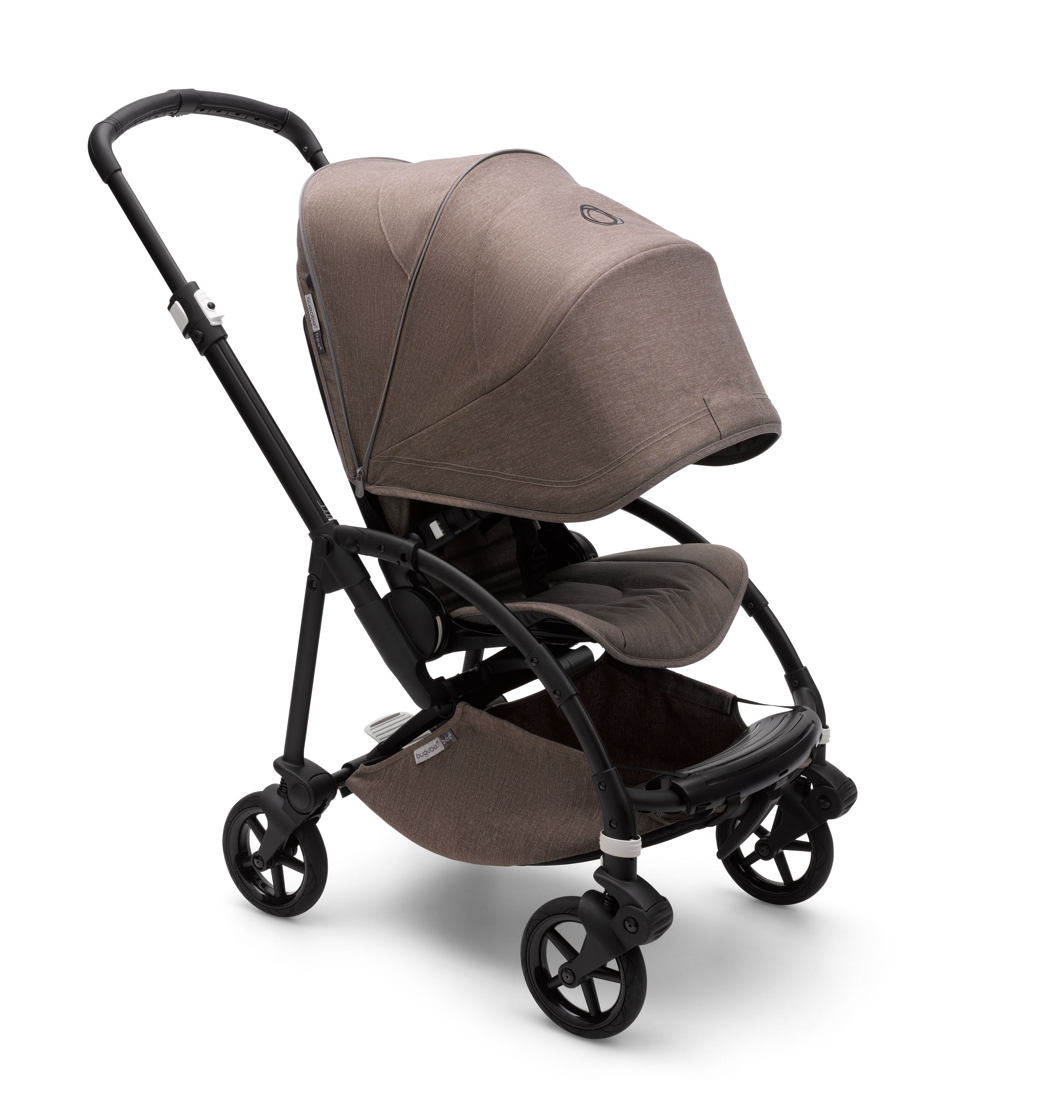 Poussette Bee 6 complète Mineral Bugaboo Canopy