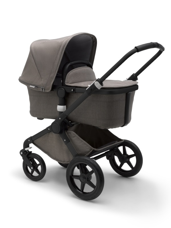 Poussette Fox collection Mineral taupe Bugaboo nacelle