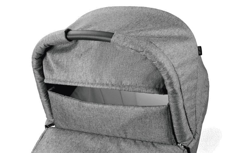 Poussette Système Futura Modular Cinder: Poussette, Nacelle et Coque Peg Perego Nacelle détail