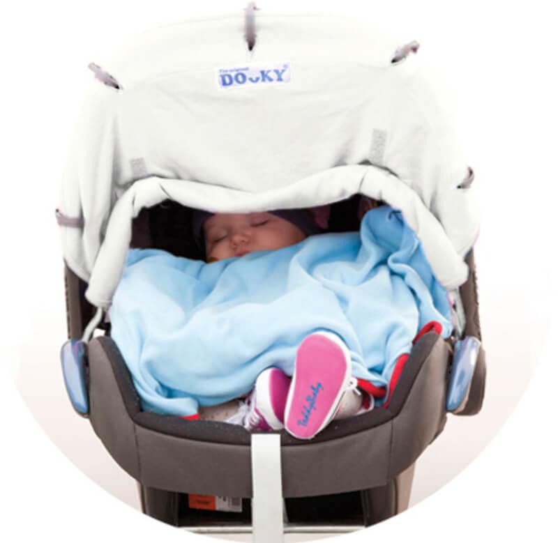 Protection pour poussette et siège-auto coque Dooky 3