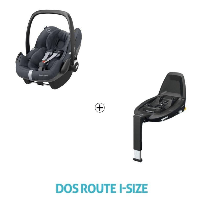 Set siège-auto Pebble Pro i-Size 0+ et base 3wayFix i-Size Bébé Confort Produit