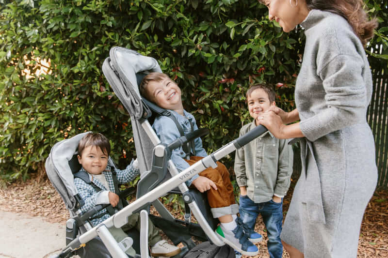 Second siège RumbleSeat pour poussette Vista V2 Uppababy Balade