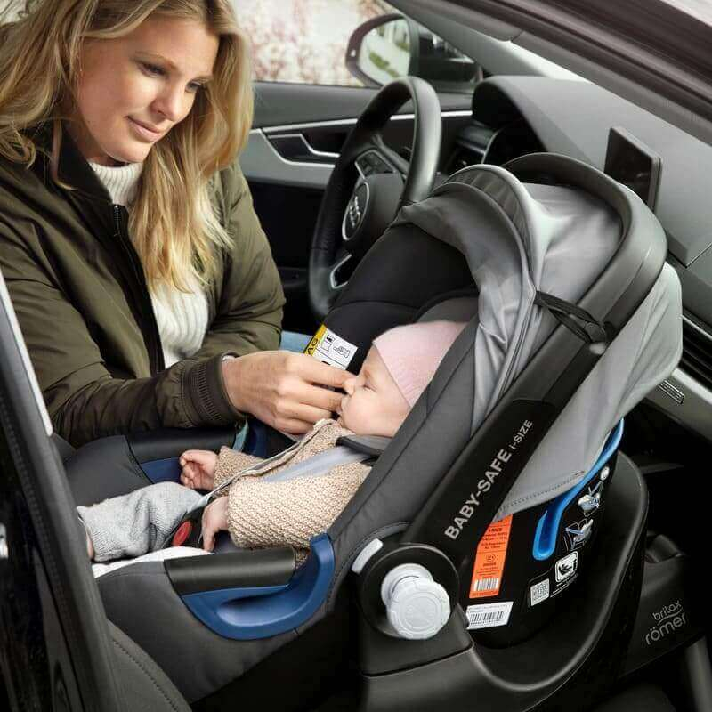 Siege auto Baby Safe 2 groupe 0 1 moonlight blue Britax Romer Bébé