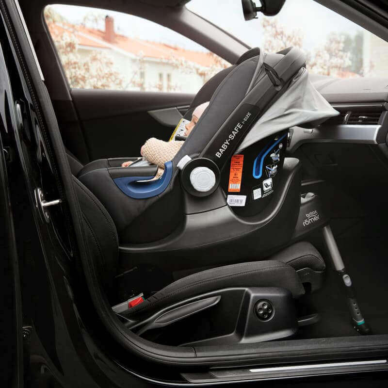 Siege auto Baby Safe 2 groupe 0 1 moonlight blue Britax Romer Installation