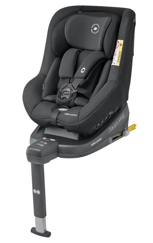 Siège-auto Beryl i-Size groupe 0/1/2 Authentic Black Bébé Confort Gauche