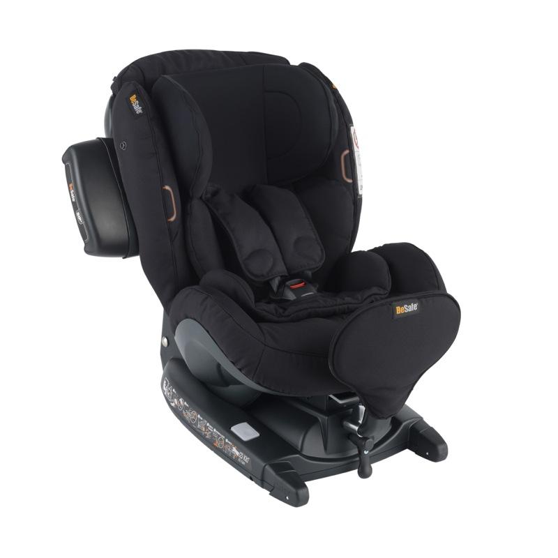 Siège-auto iZi Kid i-Size X3 Groupe 0+/1 Black Cab