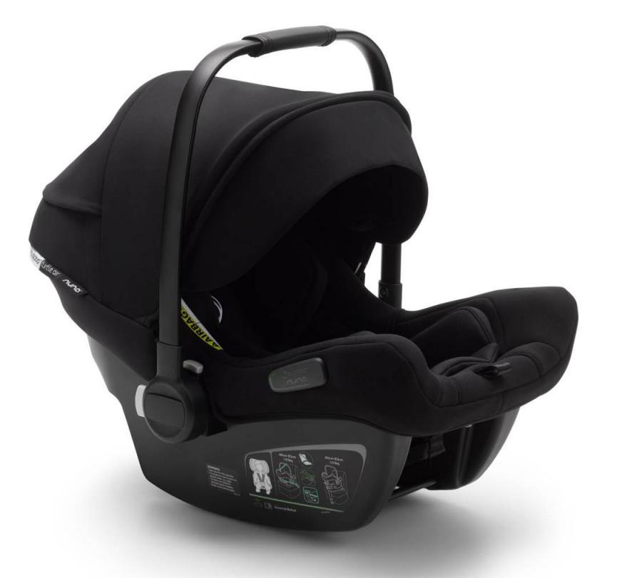 Pack siège-auto Turtle Air by Nuna groupe 0+ et base isofix Bugaboo Canopy