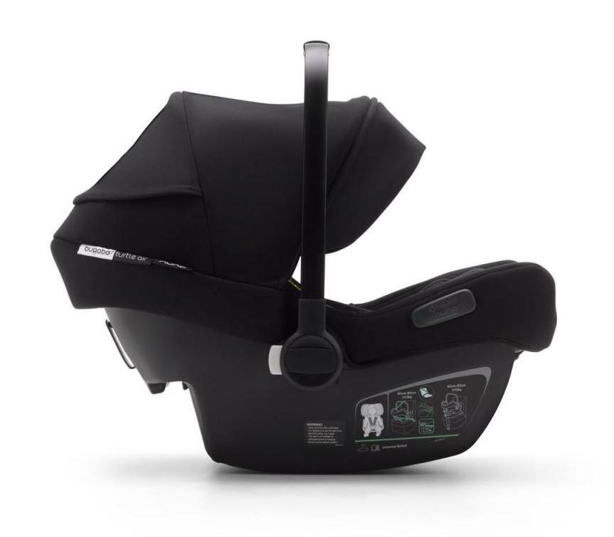 Pack siège-auto Turtle Air by Nuna groupe 0+ et base isofix Bugaboo Latéral