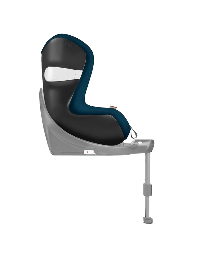 Siege auto Sirona M2 iSize groupe 0 1 tropical blue face route Cybex BamBinou