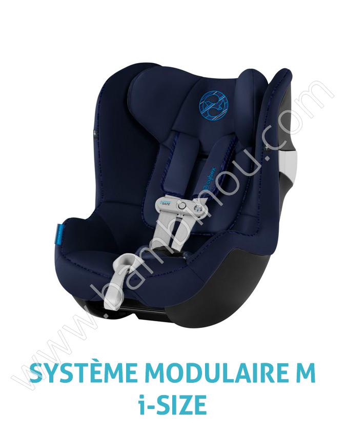 Siege auto Sirona M2 iSize SensorSafe groupe 0 1 indigo blue Cybex Bambinou