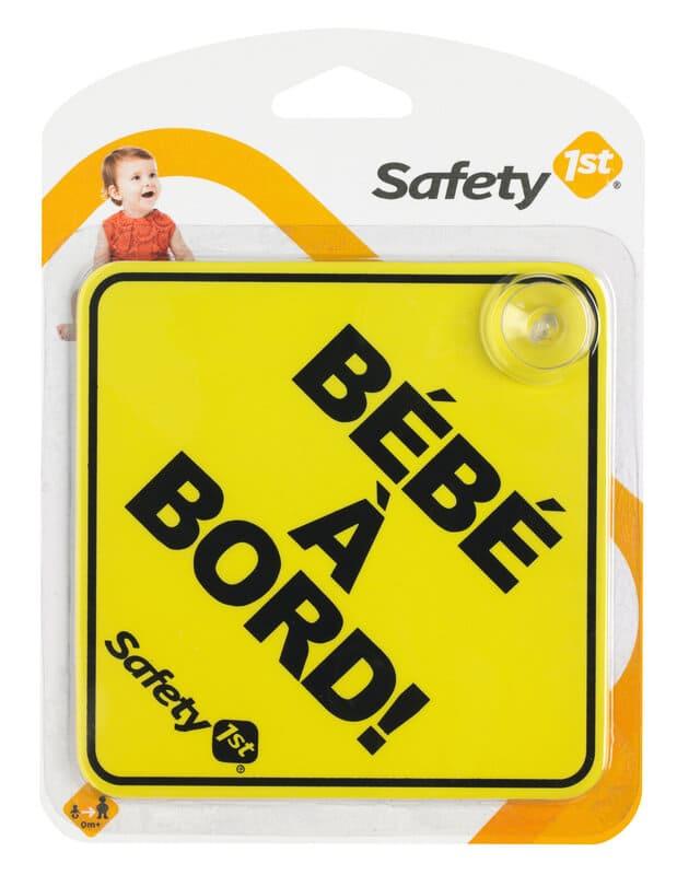 Signe Bébé à Bord Jaune Safety First 2