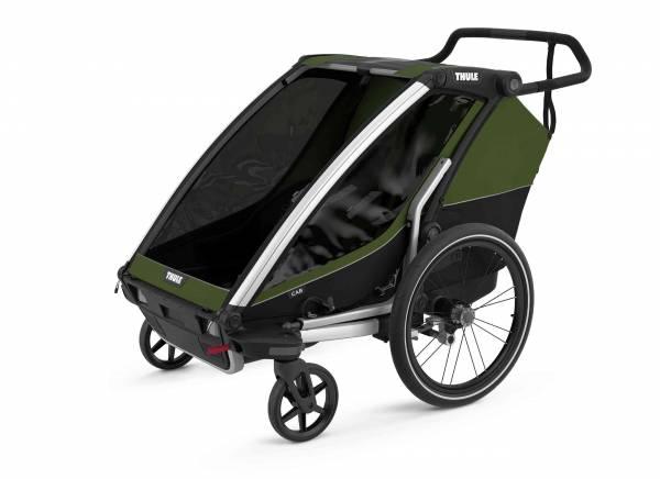 Chariot à vélo Cab 2 Cypres Green Thule Produit
