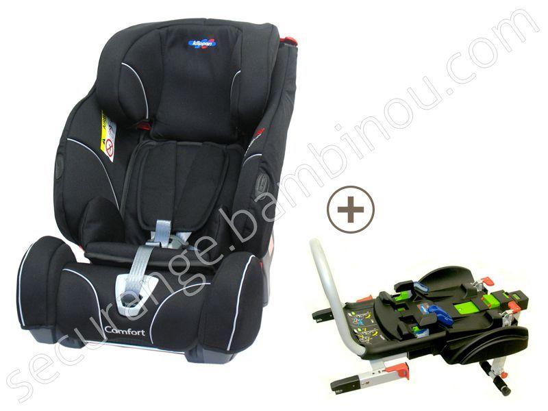 triofix recline comfort groupe 1 2 3 avec base isofix Klippan Securange by BamBinou