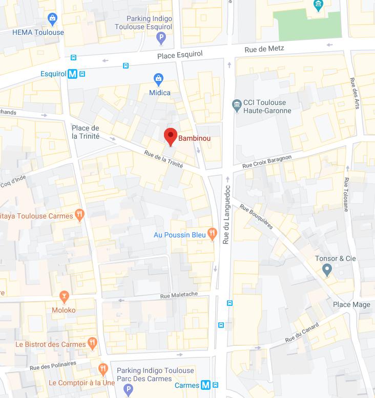 Où trouver Bambinou à Toulouse?