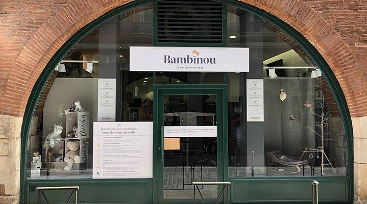 Notre boutique Bambinou à Toulouse
