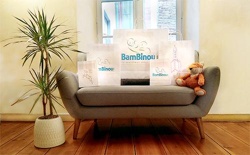 Personal Shopper BamBinou : poches cadeaux BamBinou.com