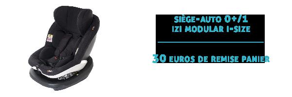 Siège-auto 0+/1 izi modular i-size